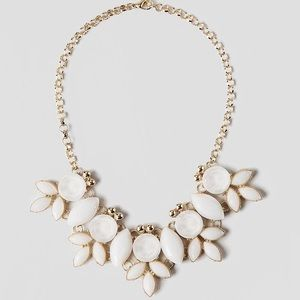 Francesca's Biella Jeweled Statement Necklace